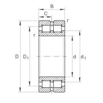 100 mm x 140 mm x 40 mm  INA SL014920 cylindrical roller bearings